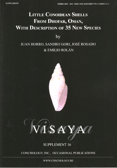 Visaya Supplement 16 -Little Conoidean Shells from Dhofar, Oman